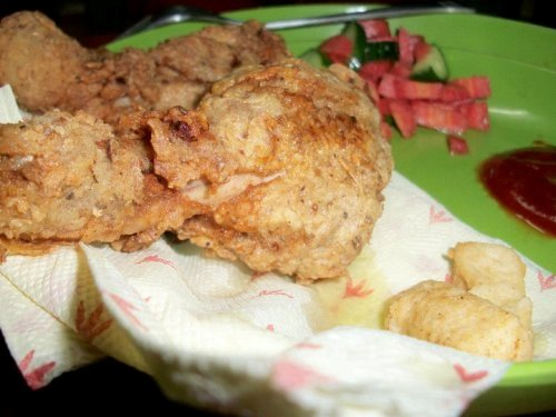 Fake KFC Chicken