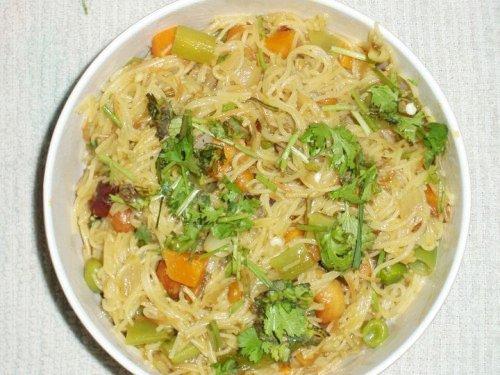 Spicy Vermicelli upma(Semiya upma)