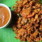 Egg Kothu Parota / Mutta Kothu Parota – Recipes using Leftover Parota