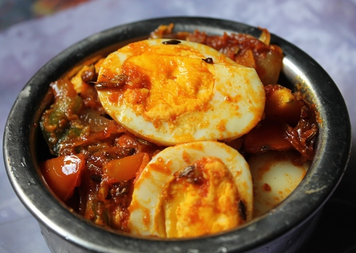 Spicy Egg Masala Recipe