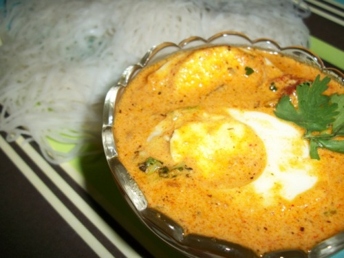 Creamy Egg Curry Recipe