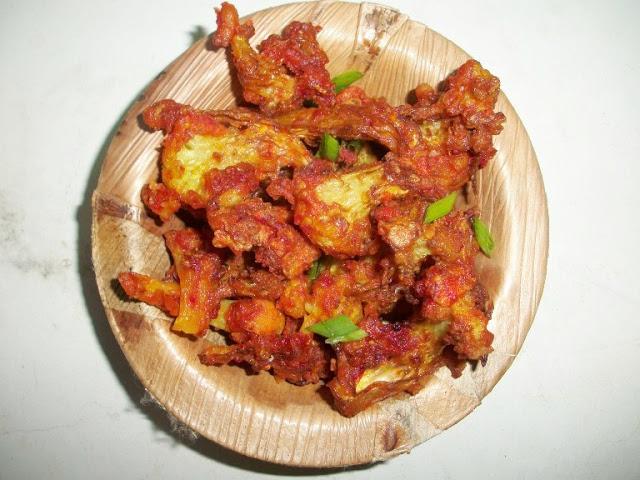 Gobi 65 ( Fried Spiced Cauliflower )