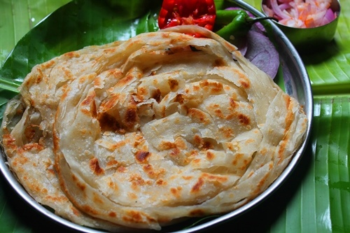 how to make parotta with atta