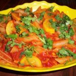 Pasta cooked in Tomato Sauce