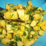 Pineapple Salsa / Pineapple Salad – Summer Special Recipes