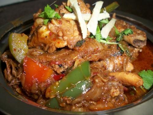 recipe: kadai chicken with capsicum recipe [28]