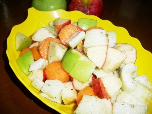 Colourful Vegetable & Fruit Salad – Healthy Recipes / Summer Special Recipes
