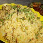Aloo Peas Pulav