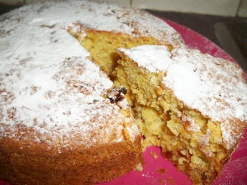 Simple Carrot Cake with Banana & Orange – No Butter