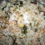 Coconut Milk Rice / Coconut Rice – Keralan Style