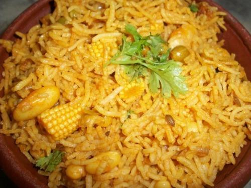 Baby Corn Biryani