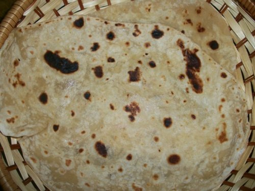 Wheat Naan without Yeast
