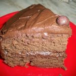 Chocolate Cake with the Best Chocolate Frosting Ever