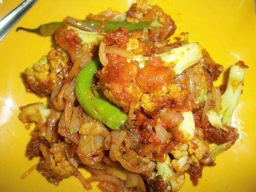 Spicy Cauliflower Masala