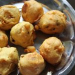 Aloo Bonda / Urulai Kilangu Bonda / Fried Potato Dumplings