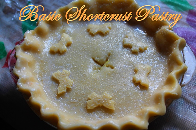 Basic Shortcrust Pastry Recipe / How to Make Shortcrust Pastry Dough without Eggs
