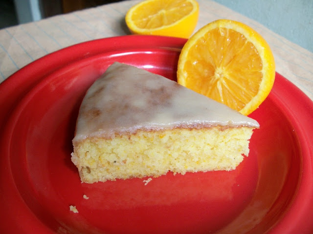 Iced Orange Cake (Moist Orange Cake with Citrus Orange Icing)