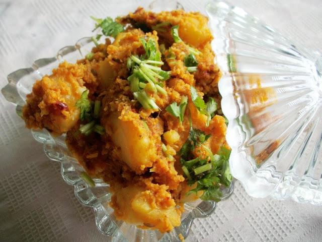 Rajasthani Potato Curry