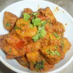 Gatte Ki subzi(Besan Dumplings in a Tangy Yoghurt Sauce)