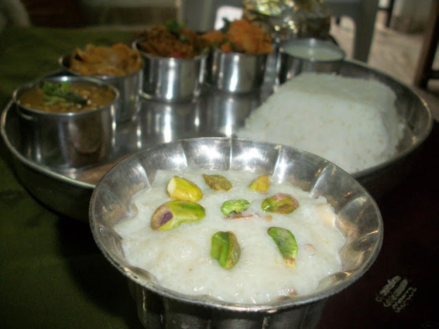 Rice Kheer(Sweet Rice Pudding)