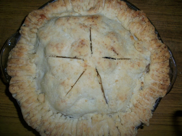 Rustic Apple Pie with Homemade ShortCrust Pastry