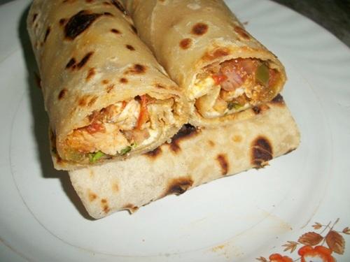 Chicken kathi rolls yummy tummy enjoy forumfinder Image collections