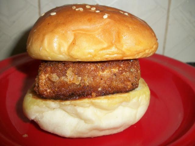 Herb Crusted Tofu Burger