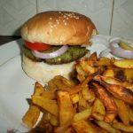Patty Peas Burger
