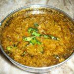 Curry leaf Kuzhambu  / Kariveppila Kulambu