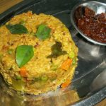 Oats Upma with Mixed Vegetables