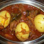 Egg Pulusu / Egg Cooked in Tamarind Sauce