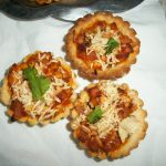 Mini Paneer Tart (Cottage Cheese Mini Tart)
