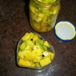 Punjabi Mango Pickle for Indian Cooking Challenge