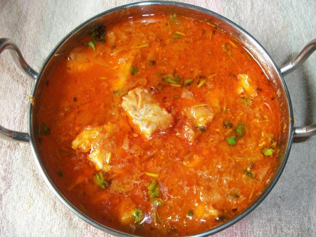 Bengali Yogurt Fish Curry