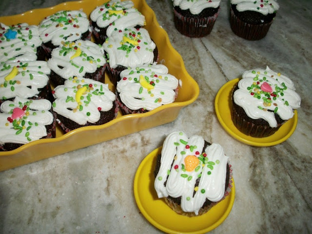 CocoCola Cupcake & Giveaway Winner