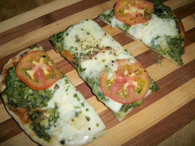 Cilantro Pesto Pizza