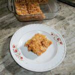 No Bake Sticky Cornflakes Bar