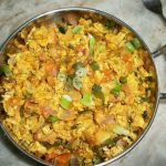 Spicy Egg Scramble with Vegetables