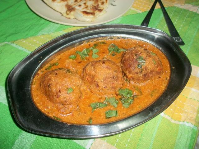 Malai Kofta (Vegetable Dumplings cooked in a Creamy Sauce)