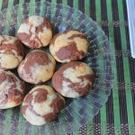 Eggless Marble Cookies Recipe