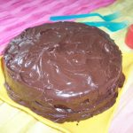 Devil Food Cake with Chocoholic Chocolate Frosting