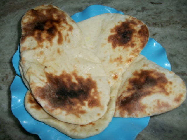 Butter Naan made in Oven