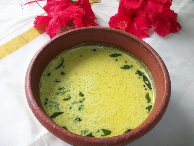 Keralan Morkulambu(Buttermilk Gravy)