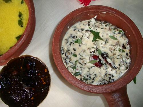 how to make a beetroot with yoghurt kichadi