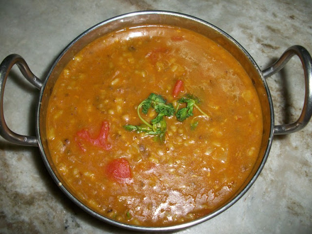 Simple Green Gram Curry(Pachapayaru Curry)