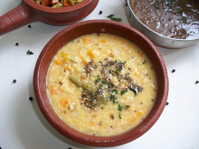 Simple Carrot Dal