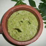 Coconut Cilantro Chutney (Thengai Kothamalli Chutney)