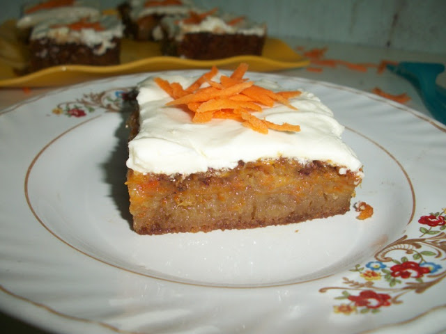 American Classic Carrot Cake with Cream Cheese Frosting