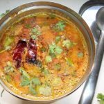 Simple Sambar ( Lentil and Vegetable Gravy)