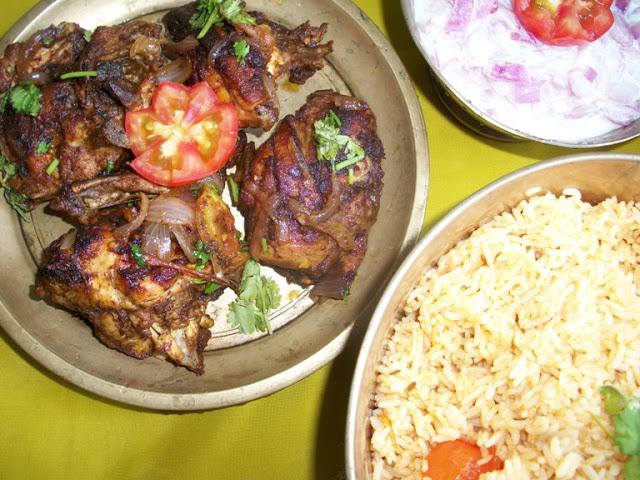 Nadan Chicken Roast / Keralan Chicken Roast